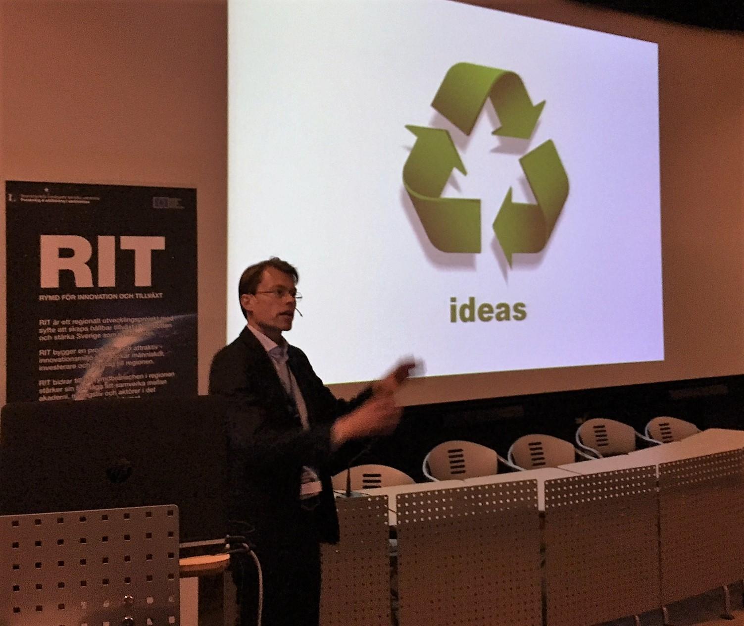 Stefan Gustafsson, ESA Technology Transfer Office, talks about the ESA Eco System